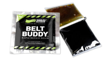 Belt Buddy product rapid repair resin