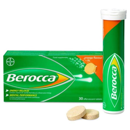 this blog is not sponsored by Berocca.